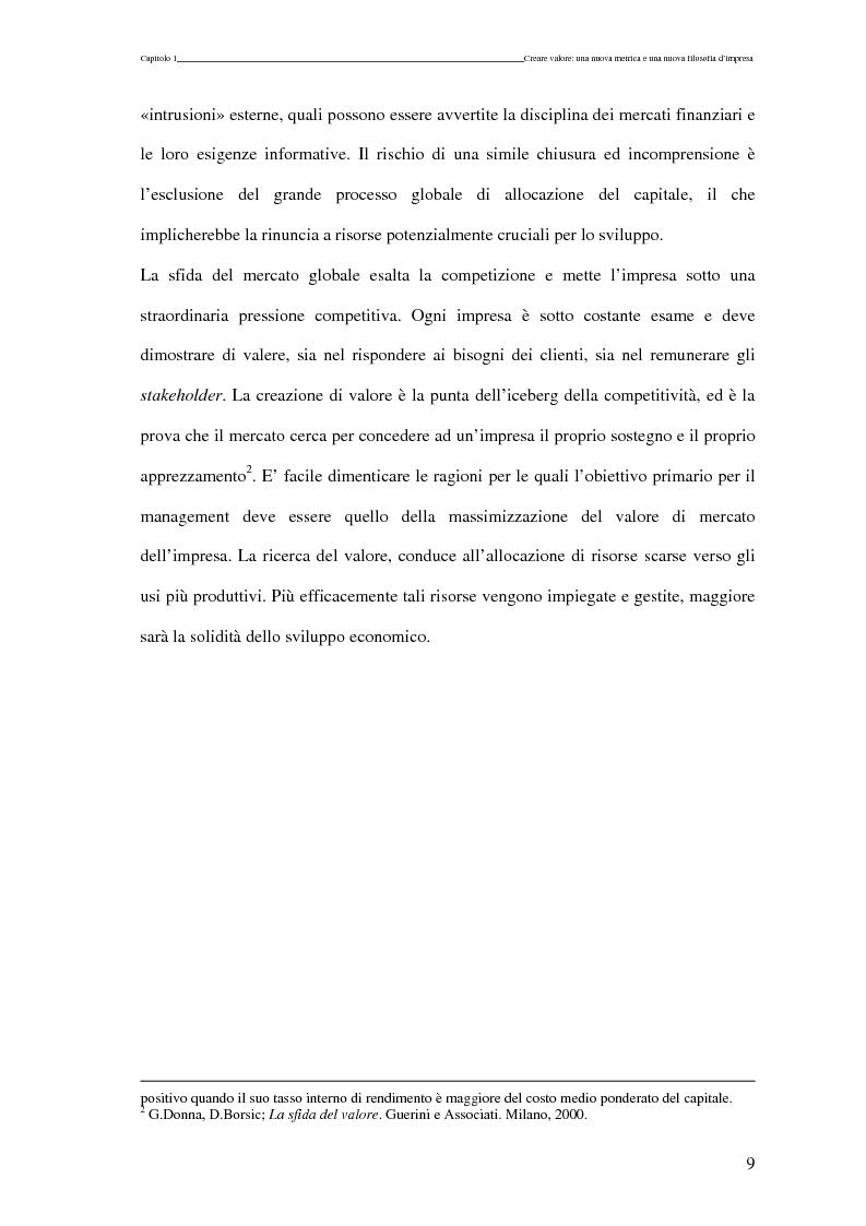 Anteprima della tesi: La scomposizione del valore di mercato di una Growth Stock., Pagina 6