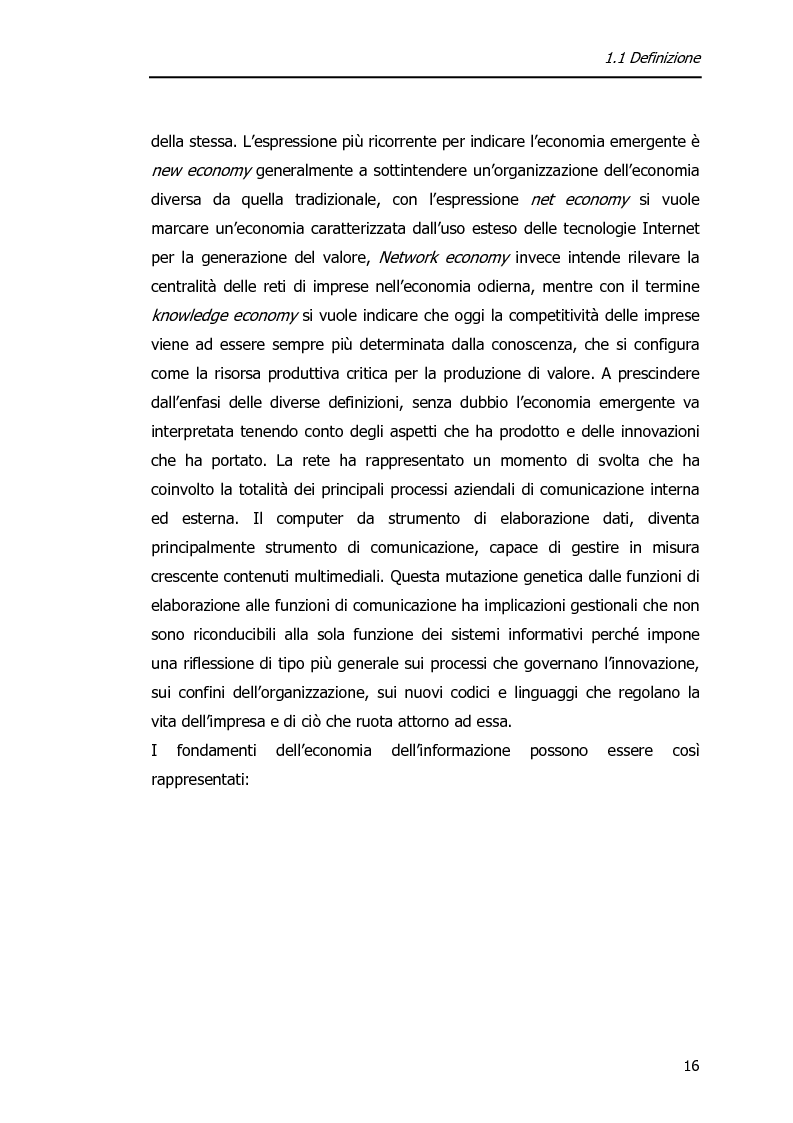 Anteprima della tesi: Economia dell'Informazione e Modelli di Business. Il caso MrPrice., Pagina 12