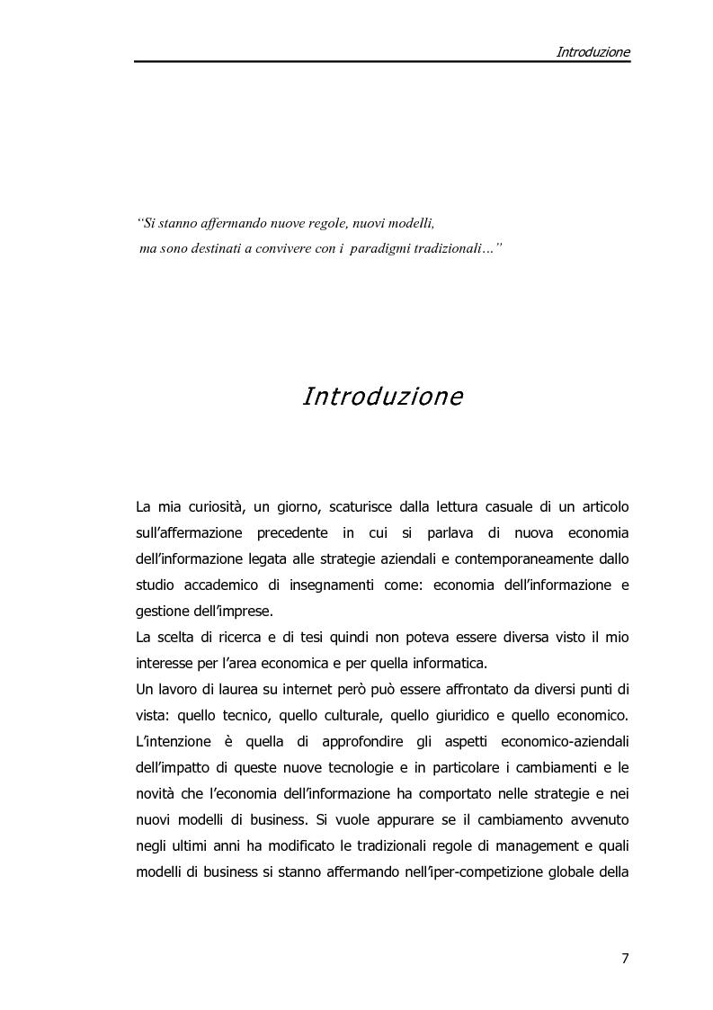 Anteprima della tesi: Economia dell'Informazione e Modelli di Business. Il caso MrPrice., Pagina 3