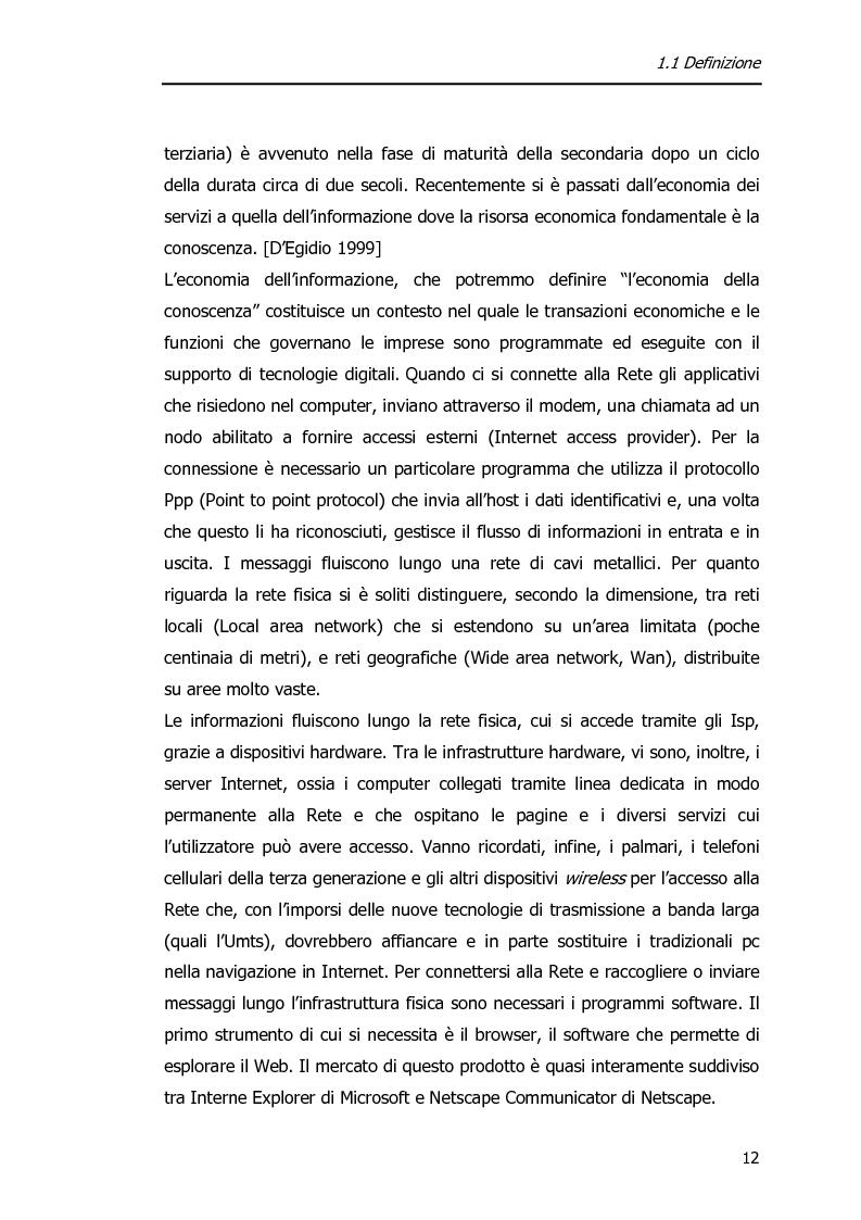 Anteprima della tesi: Economia dell'Informazione e Modelli di Business. Il caso MrPrice., Pagina 8