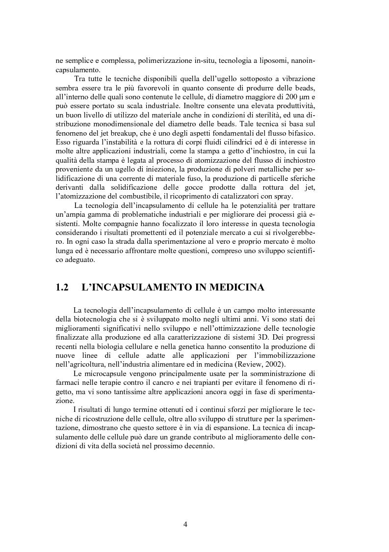 Anteprima della tesi: Jet breakup per l'incapsulamento di soluzioni di alginato, Pagina 3