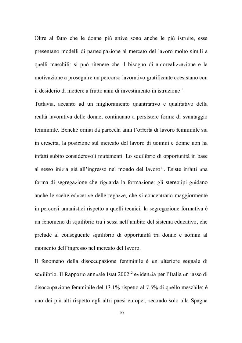Anteprima della tesi: Delocalizzazione produttiva e occupazione femminile: il caso di un calzaturificio veronese, Pagina 12