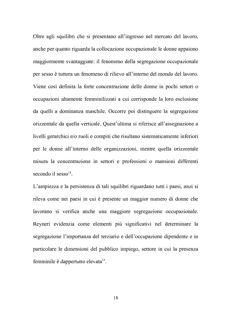 Anteprima della tesi: Delocalizzazione produttiva e occupazione femminile: il caso di un calzaturificio veronese, Pagina 14