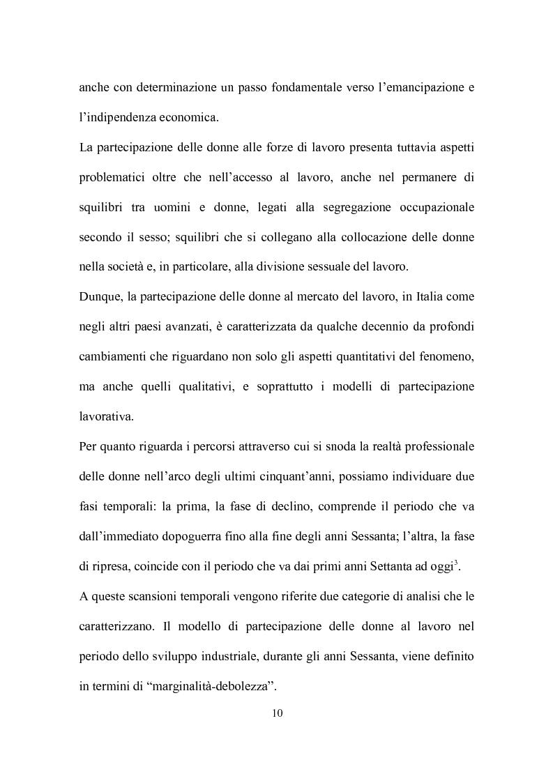 Anteprima della tesi: Delocalizzazione produttiva e occupazione femminile: il caso di un calzaturificio veronese, Pagina 6