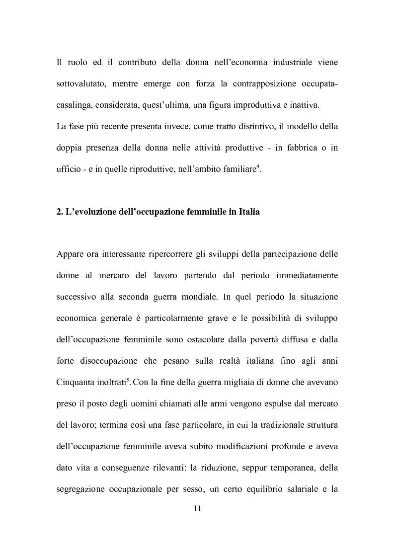 Anteprima della tesi: Delocalizzazione produttiva e occupazione femminile: il caso di un calzaturificio veronese, Pagina 7