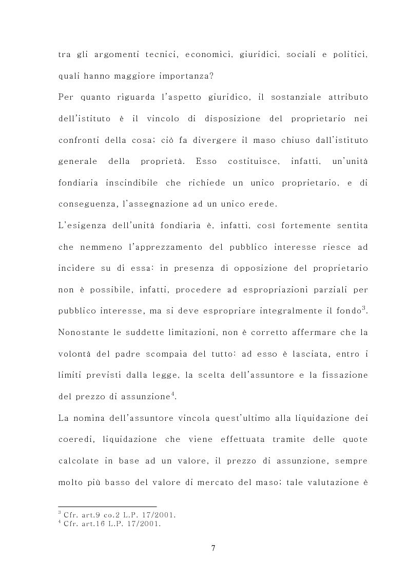 Anteprima della tesi: Il maso chiuso, Pagina 7