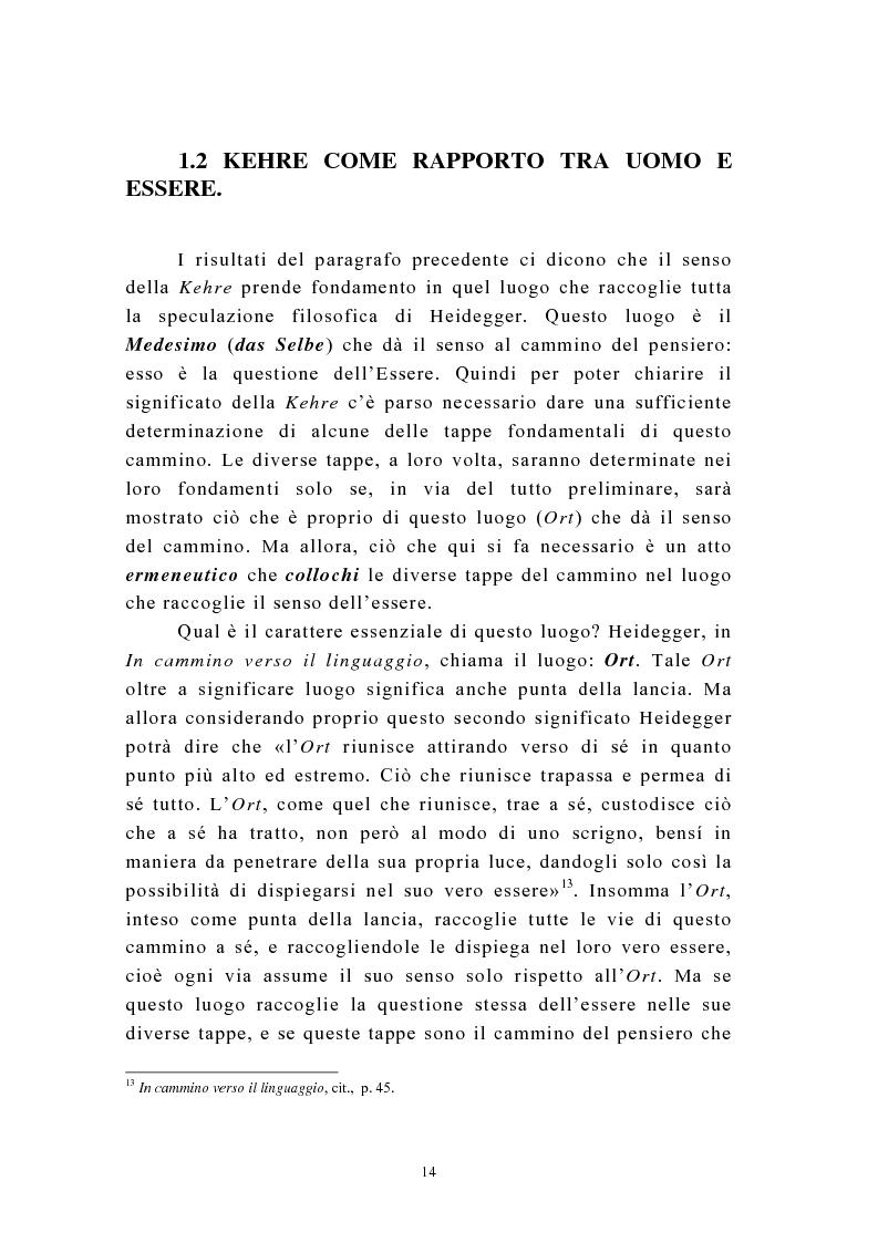Anteprima della tesi: Martin Heidegger e il problema dell'opera d'arte: la questione ermeneutica, Pagina 13