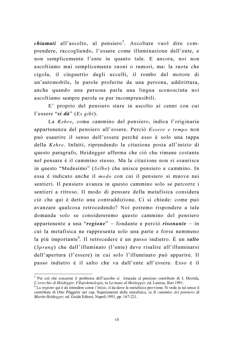 Anteprima della tesi: Martin Heidegger e il problema dell'opera d'arte: la questione ermeneutica, Pagina 9