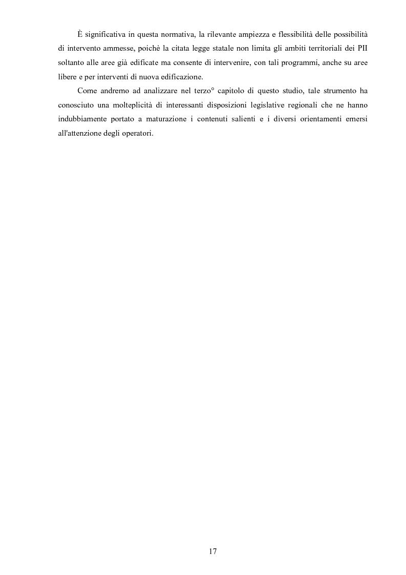 Anteprima della tesi: I ''programmi integrati d'intervento'' come strumento di riqualificazione urbana, Pagina 14