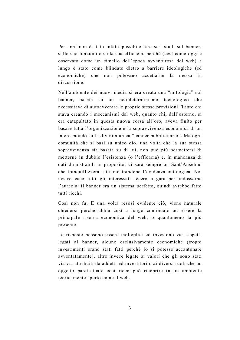 Anteprima della tesi: Ai confini del banner - Da risorsa economica a risorsa paratestuale e ritorno, Pagina 3