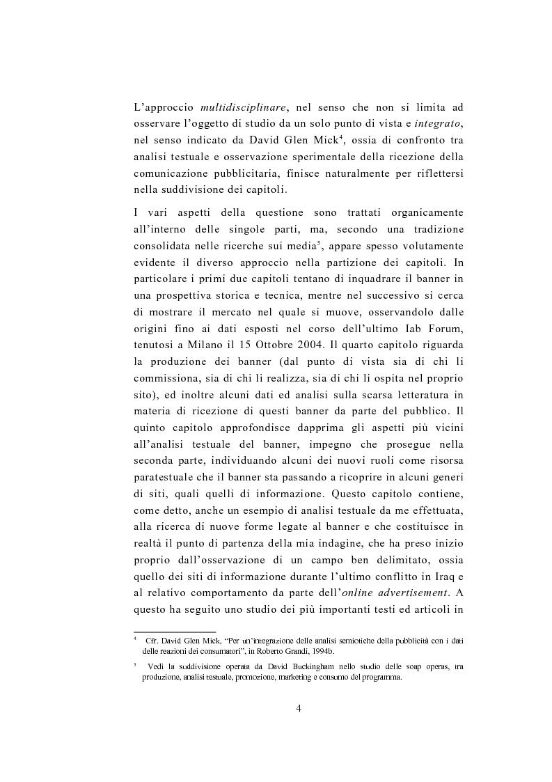 Anteprima della tesi: Ai confini del banner - Da risorsa economica a risorsa paratestuale e ritorno, Pagina 4