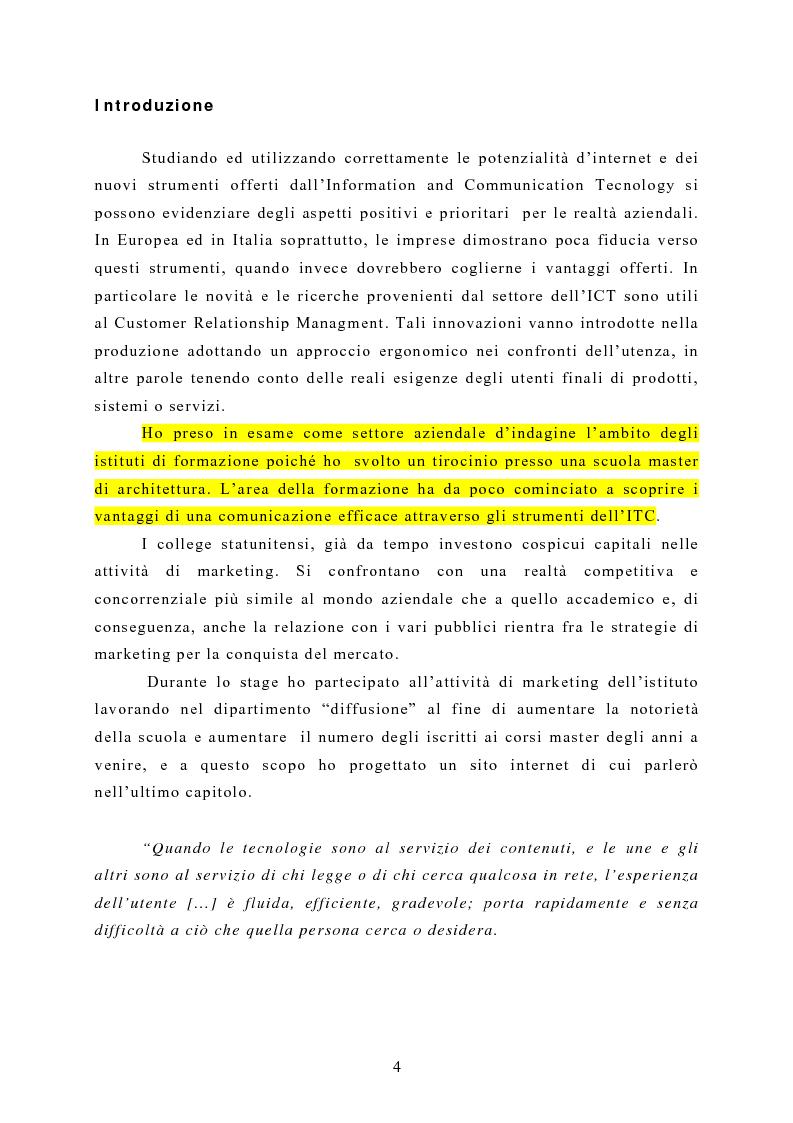Anteprima della tesi: Aumentare il capitale relazionale dell'impresa attraverso le nuove tecnologie dell'information and comunication tecnologi ICT, Pagina 1