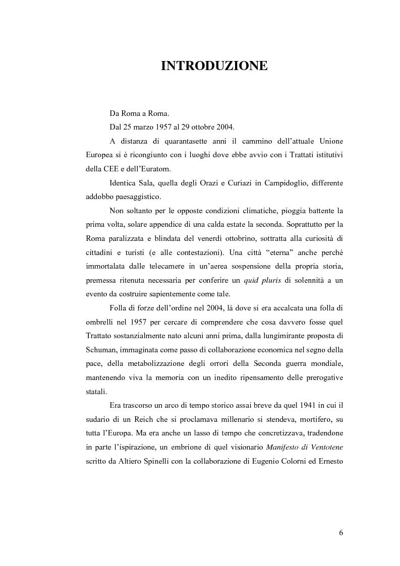 Anteprima della tesi: Le sfide dell'Unione Europea, Pagina 1
