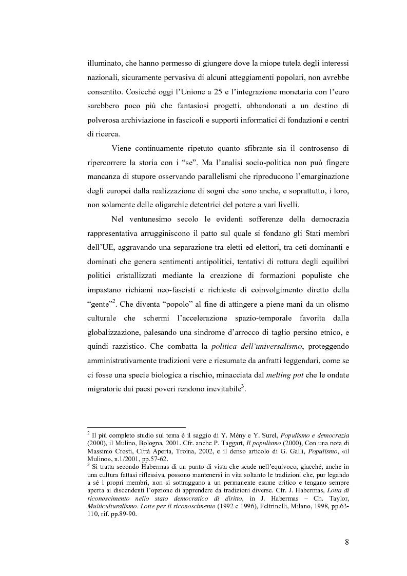 Anteprima della tesi: Le sfide dell'Unione Europea, Pagina 3