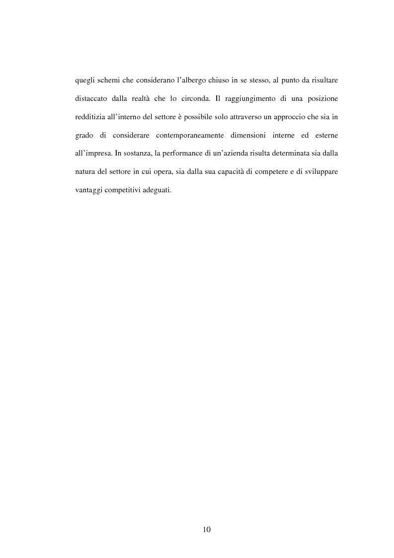 Anteprima della tesi: La strategia del valore delle aziende alberghiere: il caso Hilton Sorrento Palace, Pagina 7