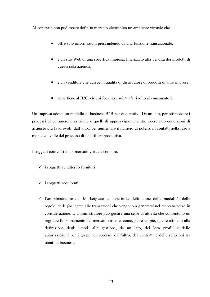 Anteprima della tesi: I mercati virtuali e il caso '' east2italy.com '', Pagina 12