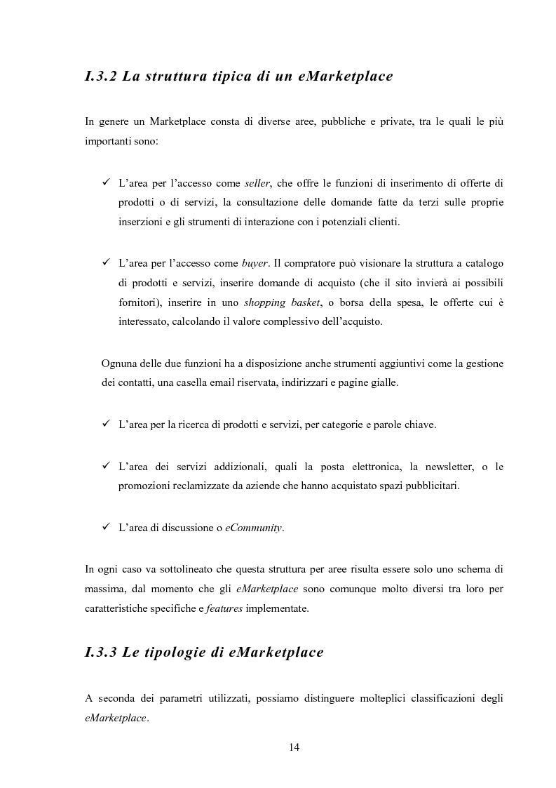 Anteprima della tesi: I mercati virtuali e il caso '' east2italy.com '', Pagina 13