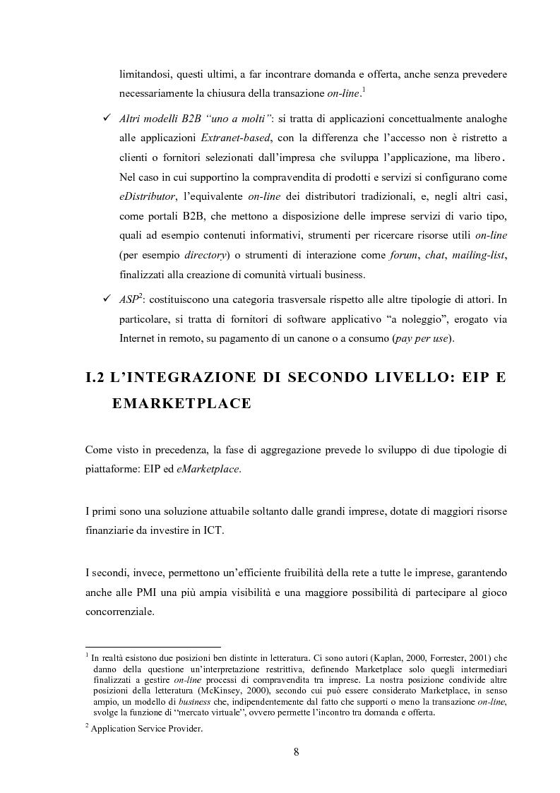Anteprima della tesi: I mercati virtuali e il caso '' east2italy.com '', Pagina 7