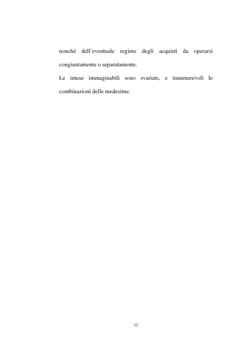 Anteprima della tesi: I contratti regolatori della convivenza, Pagina 14