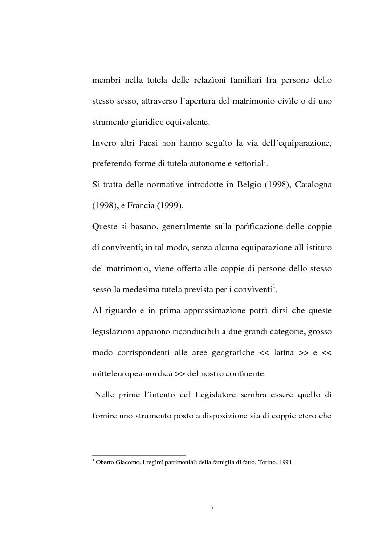 Anteprima della tesi: I contratti regolatori della convivenza, Pagina 9