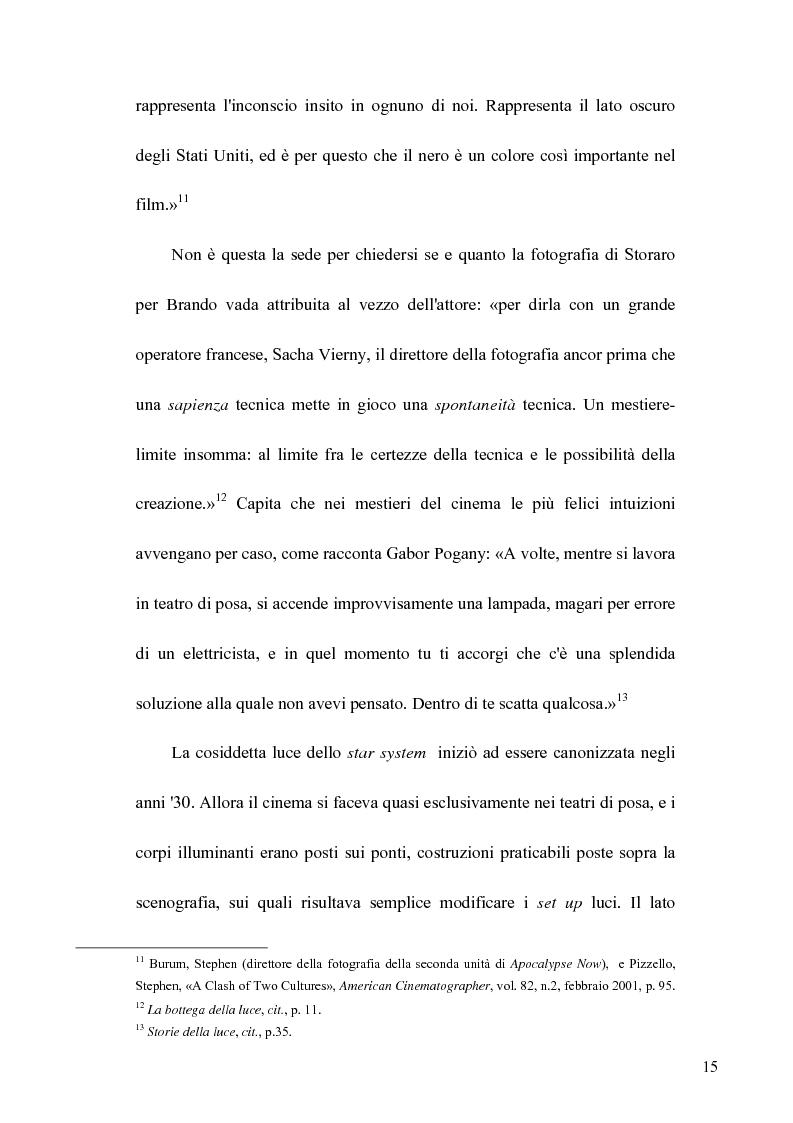 Anteprima della tesi: La Luce naturale al Cinema. Barry Lyndon e I Giorni del Cielo, Pagina 13