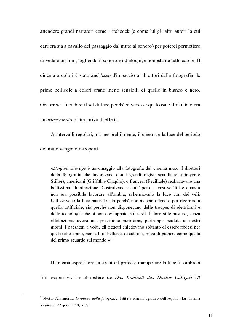 Anteprima della tesi: La Luce naturale al Cinema. Barry Lyndon e I Giorni del Cielo, Pagina 9