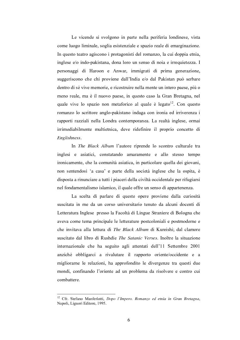 Anteprima della tesi: Elementi postcoloniali e postmoderni nell'opera di Salman Rushdie e Hanif Kureishi, Pagina 5