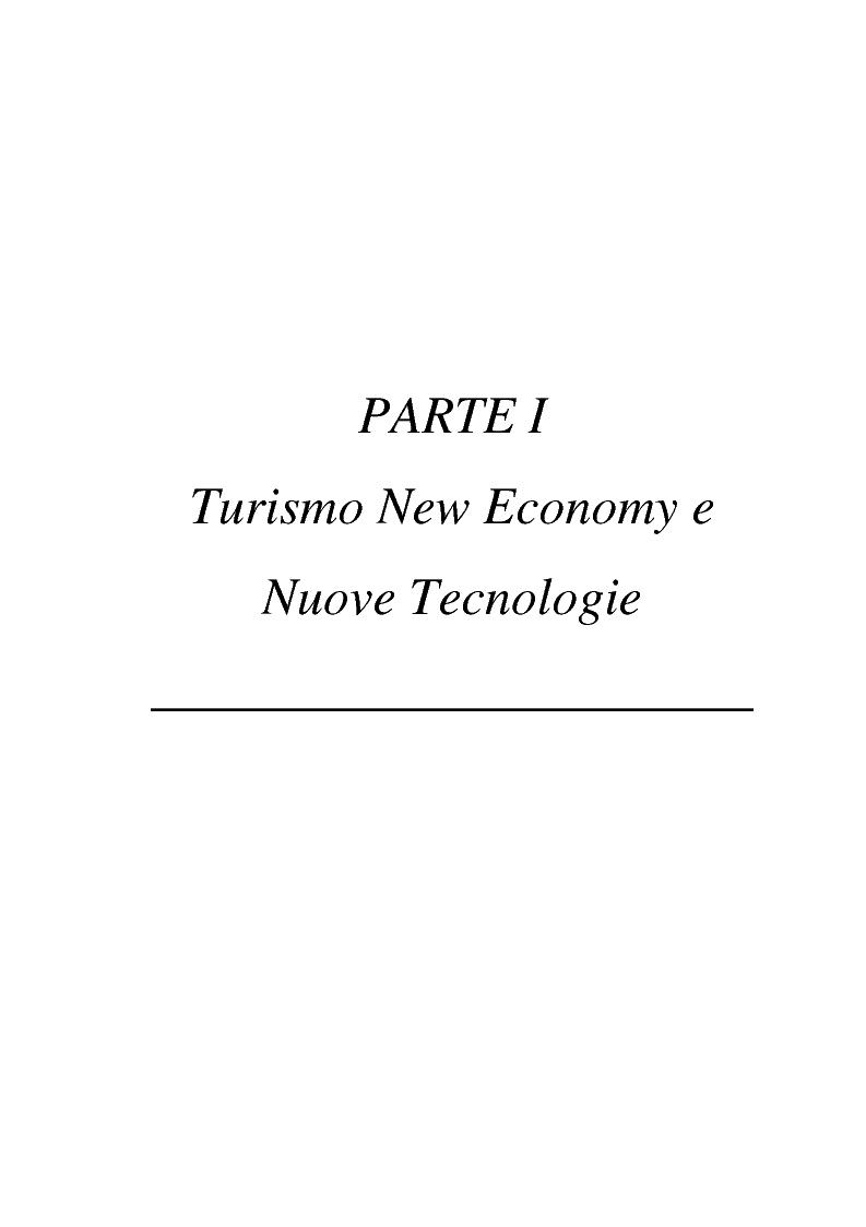Anteprima della tesi: L'impatto delle nuove tecnologie e del web nell'impresa alberghiera, Pagina 1