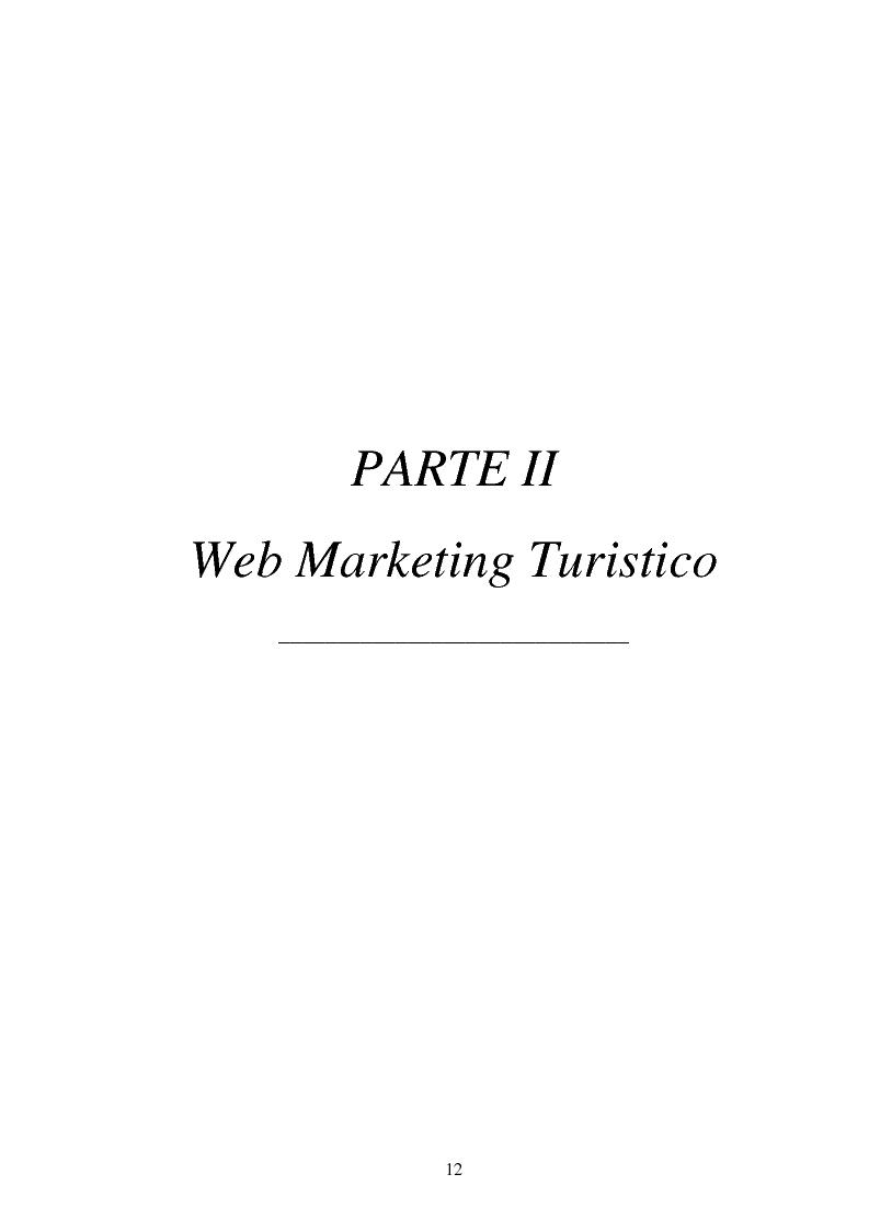 Anteprima della tesi: L'impatto delle nuove tecnologie e del web nell'impresa alberghiera, Pagina 12