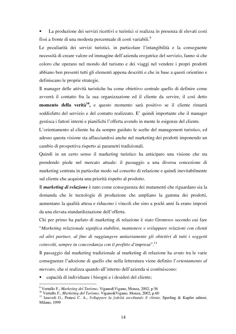 Anteprima della tesi: L'impatto delle nuove tecnologie e del web nell'impresa alberghiera, Pagina 14
