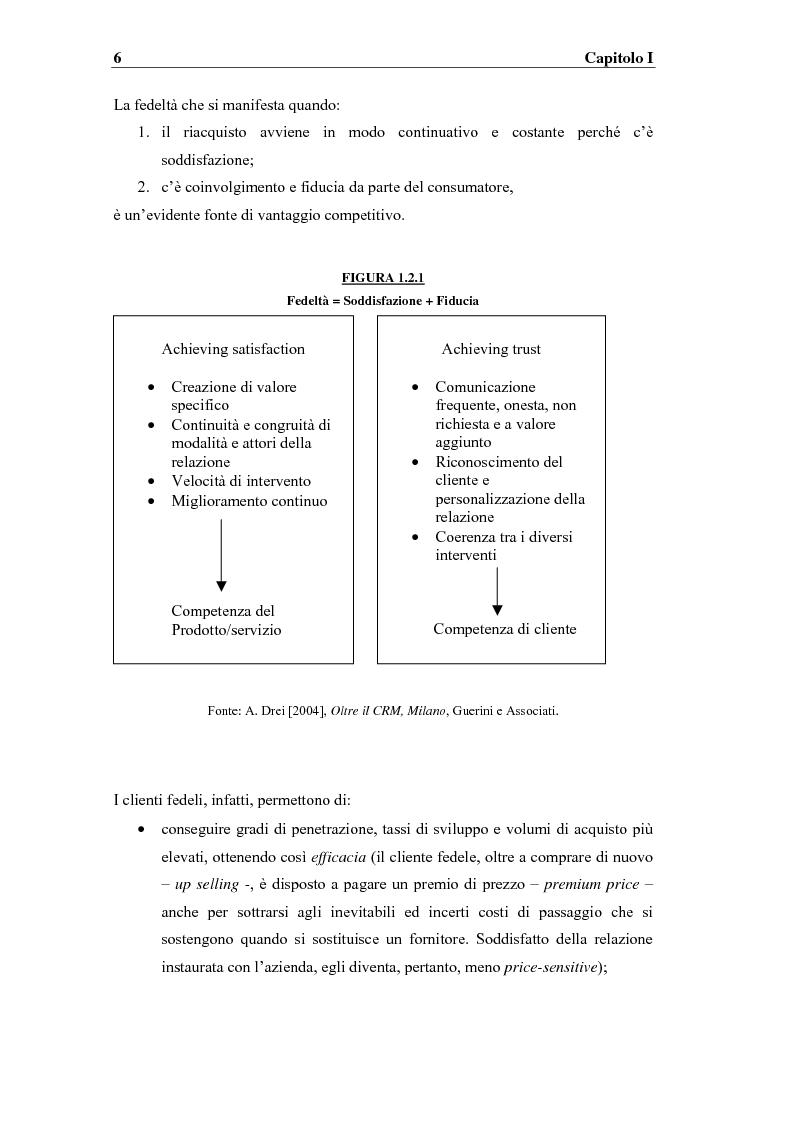 Anteprima della tesi: I sistemi competitivi e le strategie di CRM nel settore bancario. Il caso BNL, Pagina 9