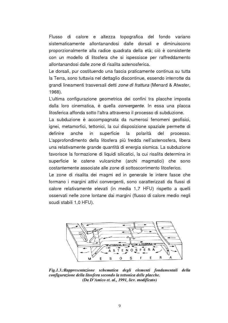 Anteprima della tesi: Confronto tra il vulcanismo del pianeta Marte e il vulcanismo terrestre con particolare riferimento alla Provincia Comagmatica Romana, Pagina 9