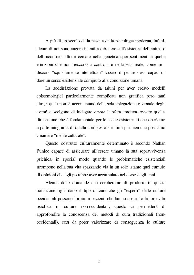 Anteprima della tesi: Possessioni e psicopatologie: una indagine etnopsichiatrica, Pagina 2