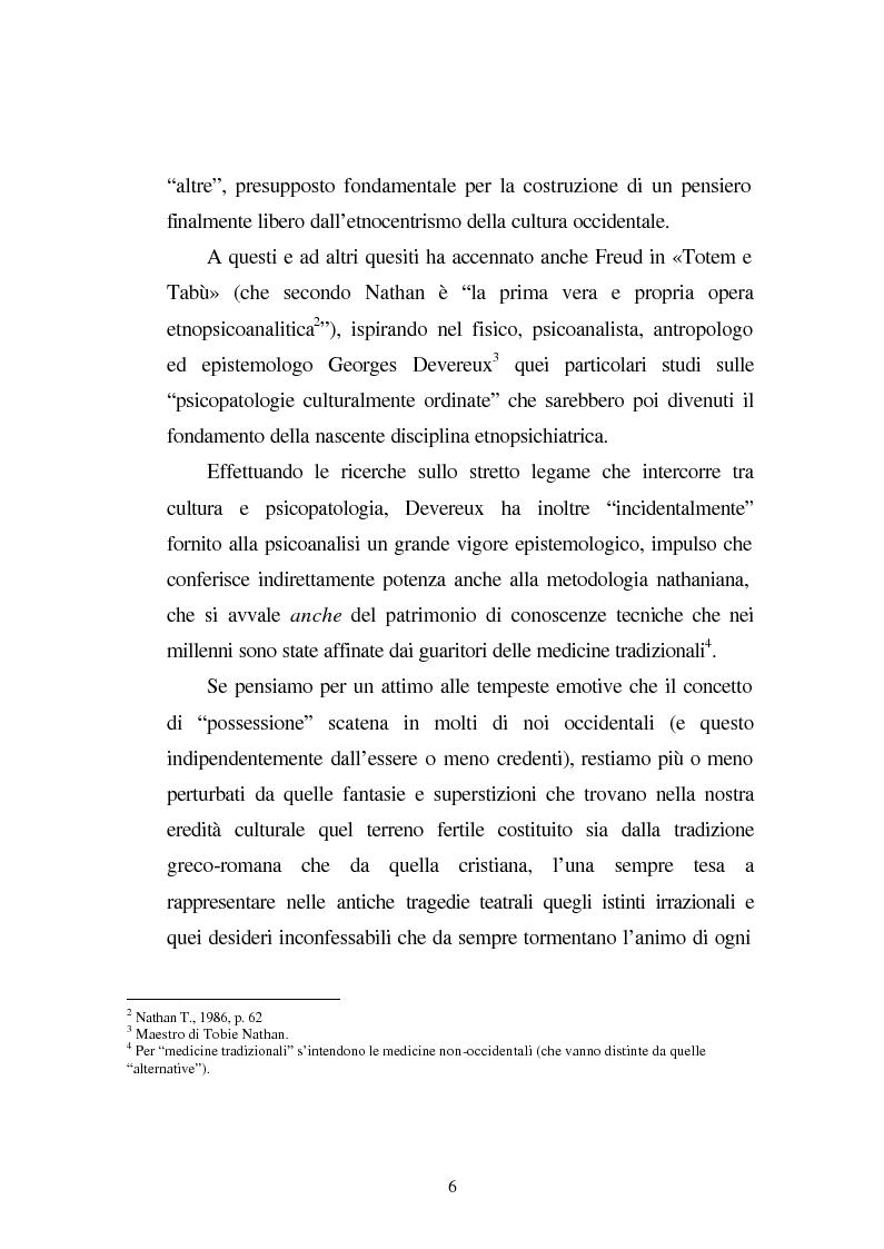 Anteprima della tesi: Possessioni e psicopatologie: una indagine etnopsichiatrica, Pagina 3