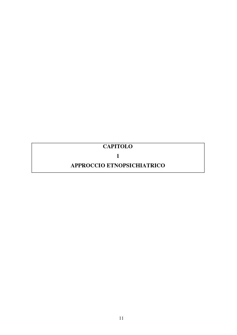 Anteprima della tesi: Possessioni e psicopatologie: una indagine etnopsichiatrica, Pagina 8
