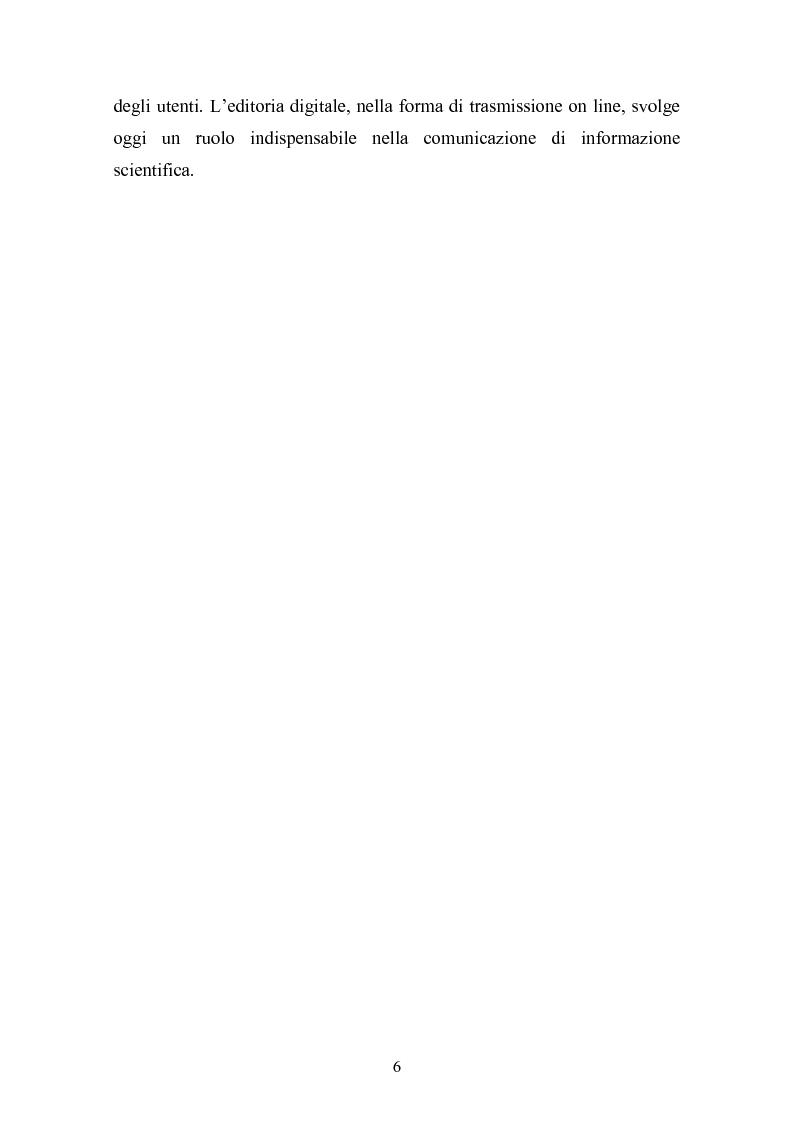 Anteprima della tesi: Strumenti e metodi del processo editoriale in linea: analisi delle realizzazioni attuali, Pagina 4