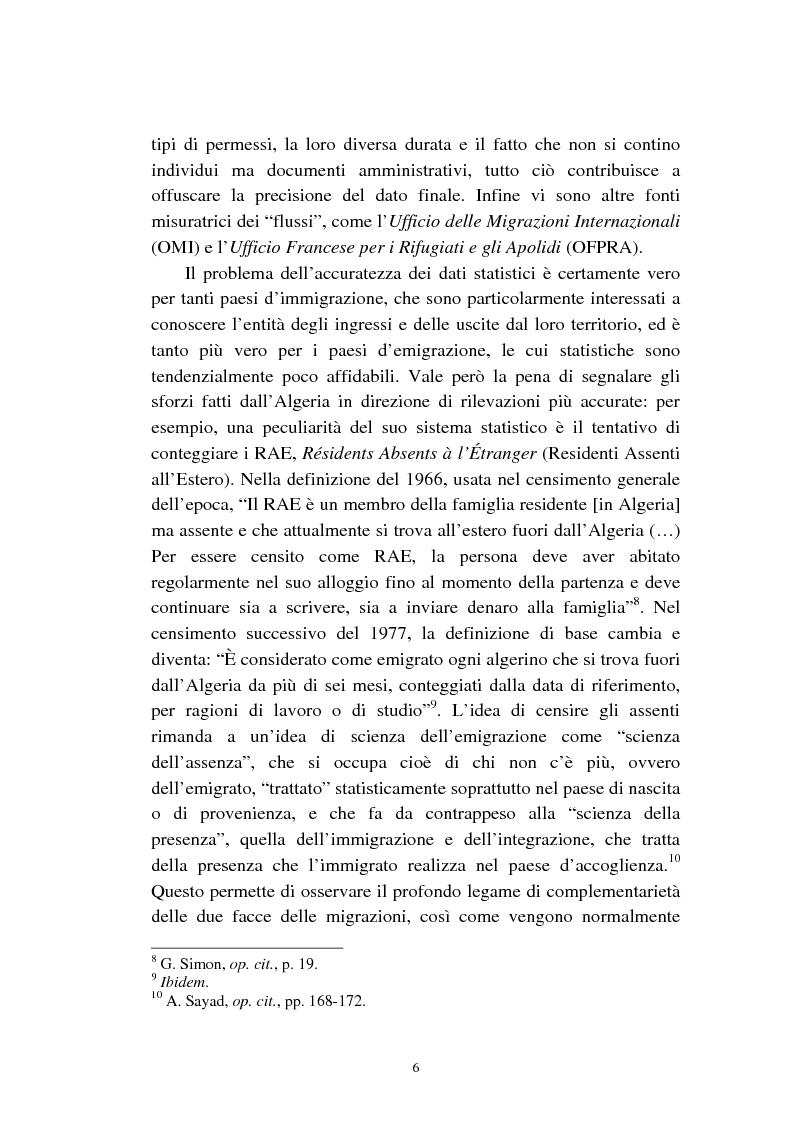 Anteprima della tesi: Le migrazioni franco-algerine prima e dopo l'11 settembre, Pagina 4