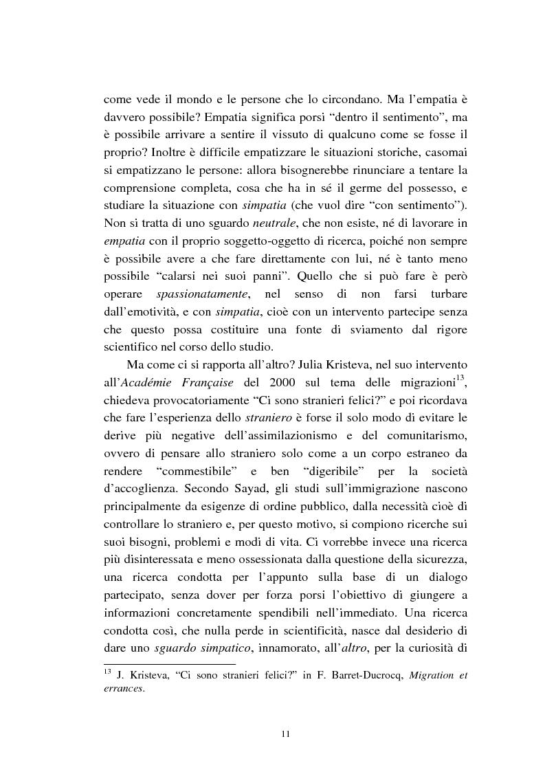 Anteprima della tesi: Le migrazioni franco-algerine prima e dopo l'11 settembre, Pagina 9