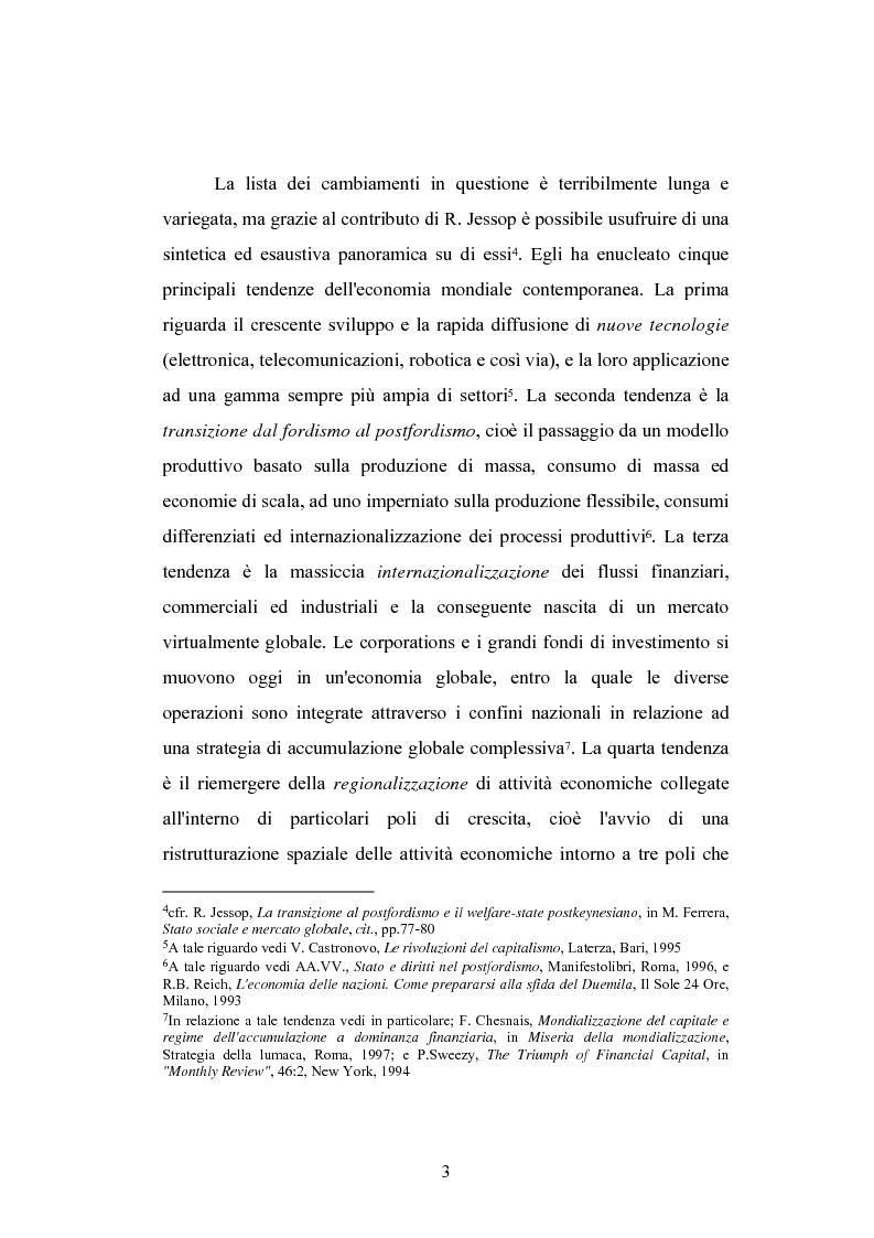 Anteprima della tesi: Globalizzazione e teorie della giustizia, Pagina 3