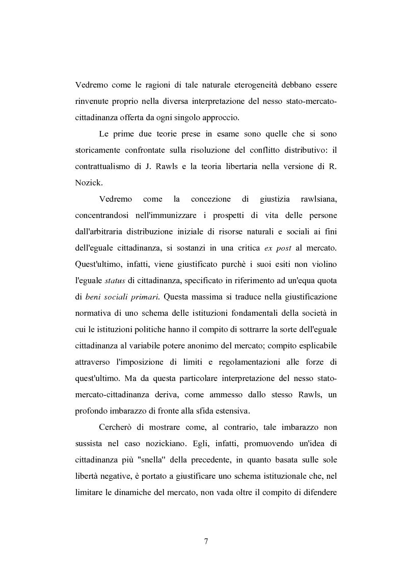 Anteprima della tesi: Globalizzazione e teorie della giustizia, Pagina 7