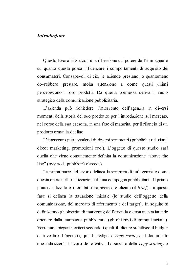 Anteprima della tesi: Elaborazione di una campagna pubblicitaria per il lancio di un quotidiano economico, Pagina 1