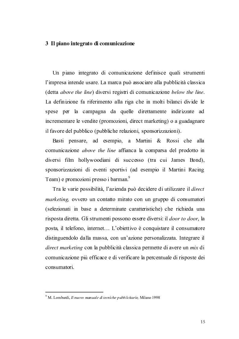 Anteprima della tesi: Elaborazione di una campagna pubblicitaria per il lancio di un quotidiano economico, Pagina 12