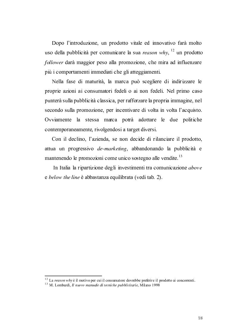 Anteprima della tesi: Elaborazione di una campagna pubblicitaria per il lancio di un quotidiano economico, Pagina 15