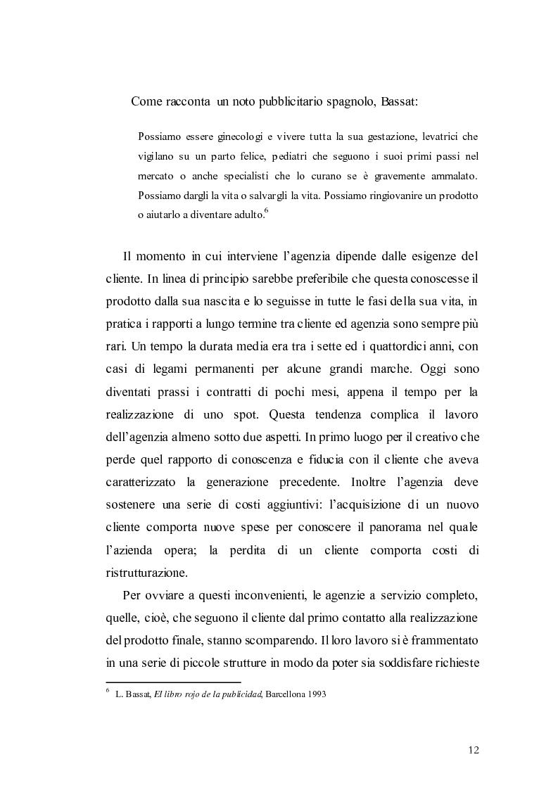 Anteprima della tesi: Elaborazione di una campagna pubblicitaria per il lancio di un quotidiano economico, Pagina 9