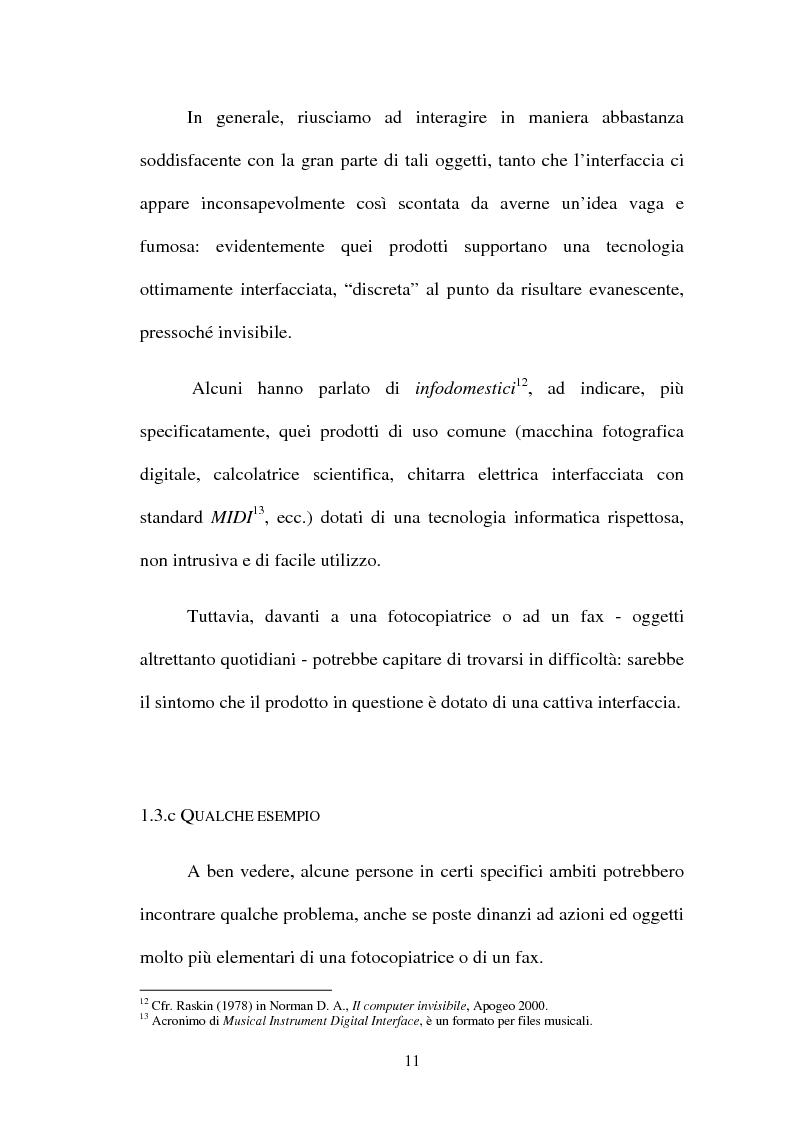 Anteprima della tesi: Proposta di una nuova metodologia per la valutazione dell'usabilità dei siti web, Pagina 11