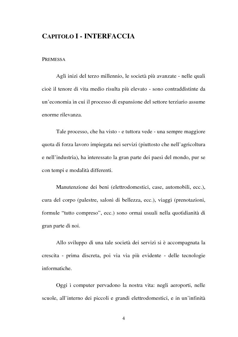 Anteprima della tesi: Proposta di una nuova metodologia per la valutazione dell'usabilità dei siti web, Pagina 4