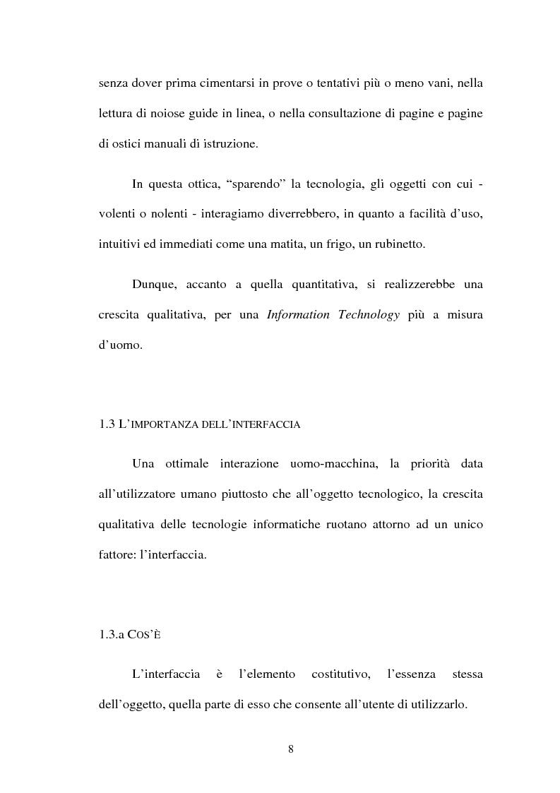 Anteprima della tesi: Proposta di una nuova metodologia per la valutazione dell'usabilità dei siti web, Pagina 8