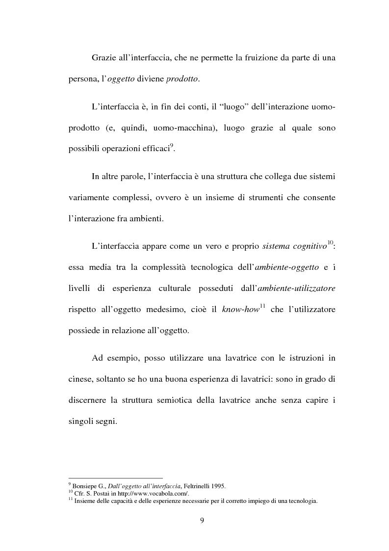 Anteprima della tesi: Proposta di una nuova metodologia per la valutazione dell'usabilità dei siti web, Pagina 9