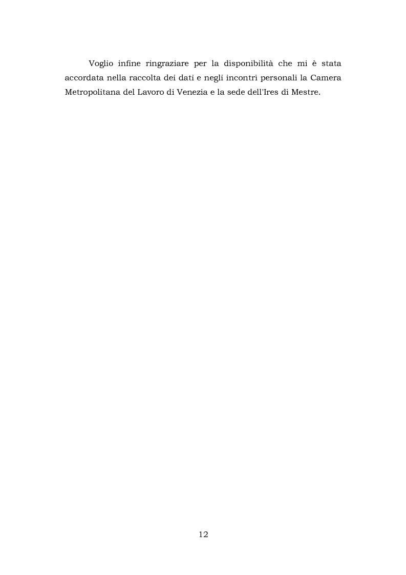 Anteprima della tesi: Comunicazione e rappresentanza nel sindacato. I rapporti con il lavoro, la società, i media. L'esperienza di Nidil - Cgil., Pagina 8
