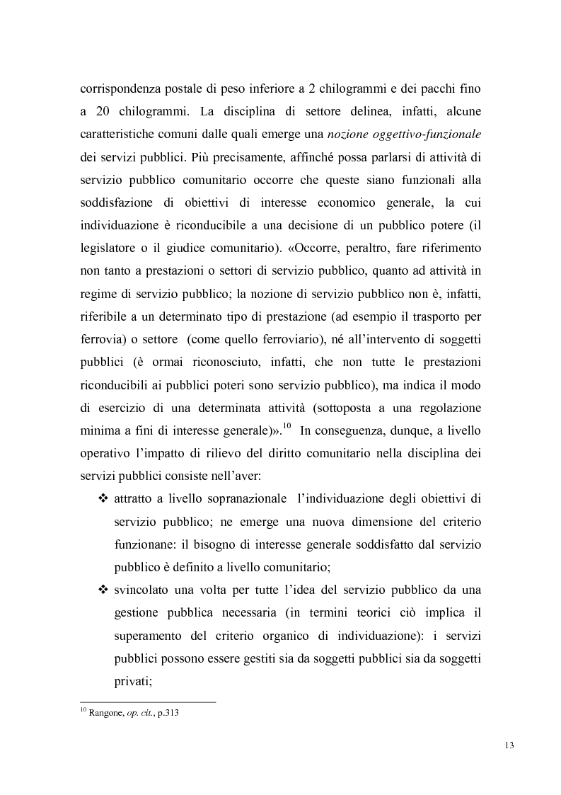 Anteprima della tesi: Concorrenza e regolazione nel trasporto ferroviario passeggeri: il difficile cammino delle riforme, Pagina 10